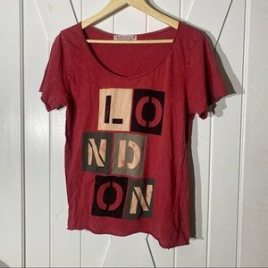 Red Project Social T London Tee